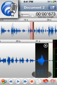 movile voice over recording app twisted wave