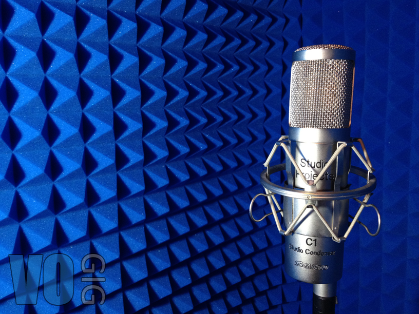 how to get your first voice over job